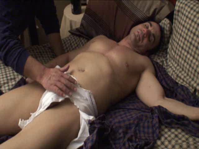 Gay BDSM Drunk, Erect and In Trouble