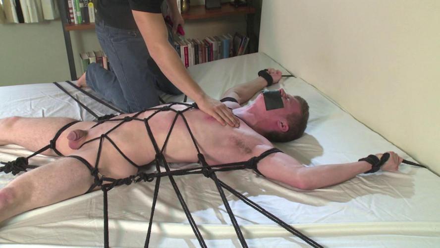 Gay BDSM Teen boy roped and nipple-tortured joel vol. 2
