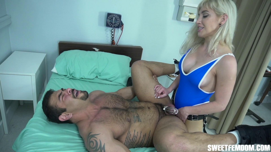Femdom and Strapon Creepy Doctor Gets Ass Fucked