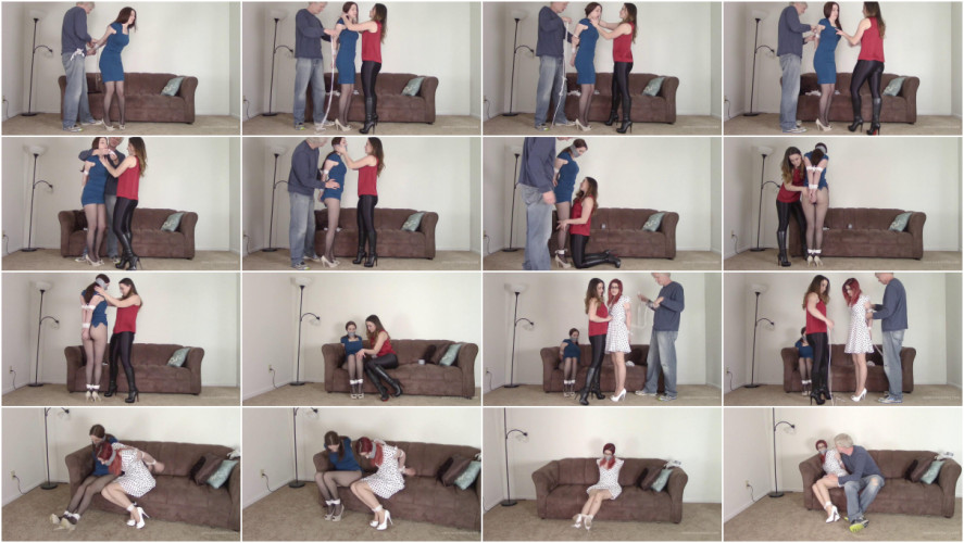 BDSM Constance & Tara Tied - Dual Captives Tightly Bound and Gagged