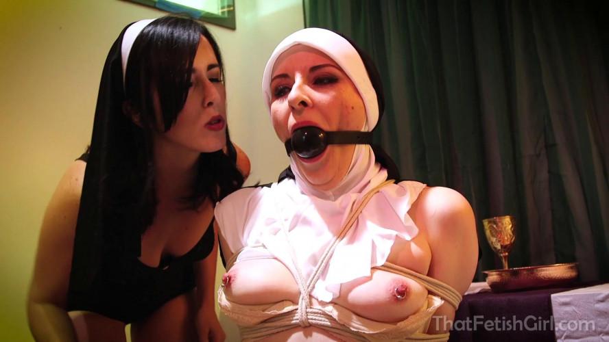 BDSM Naughty Nun Caroline Gets Punished