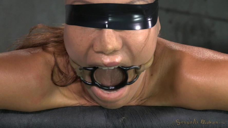 BDSM Stunning Veruca James utterly destroyed by cock, brutal pounding, epic deepthroat