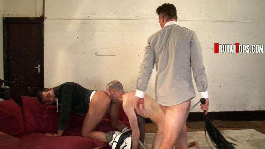 Gay BDSM Session 126 (Turned Over By Cruise Bar )
