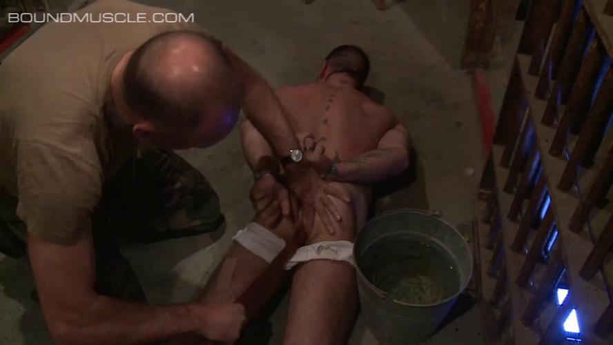 Gay BDSM Male Jocks in Bondage