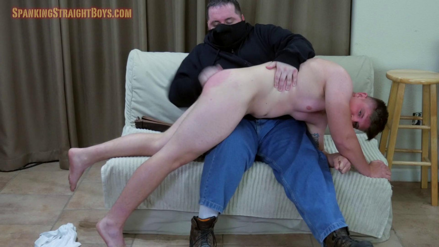Gay BDSM Vincent Over the Knee