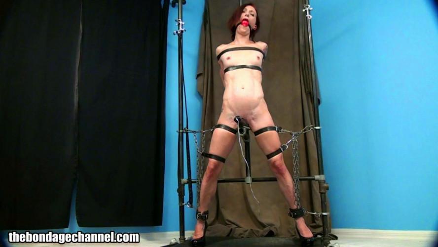 BDSM Belt standing bondage