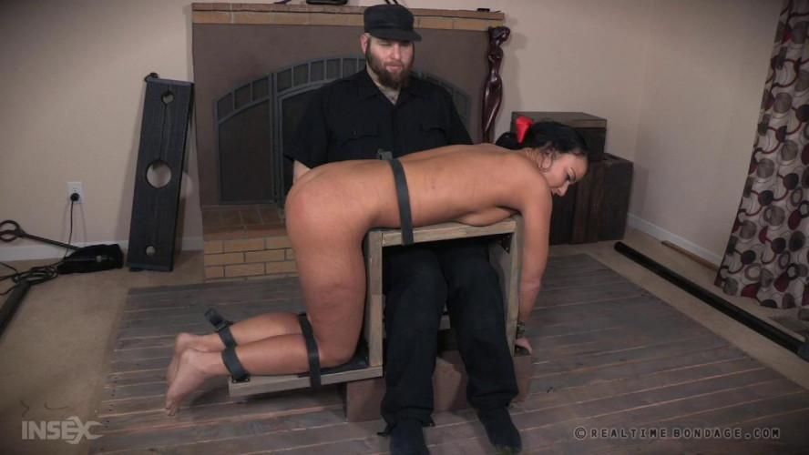 BDSM Tough Bondage Therapy For London River