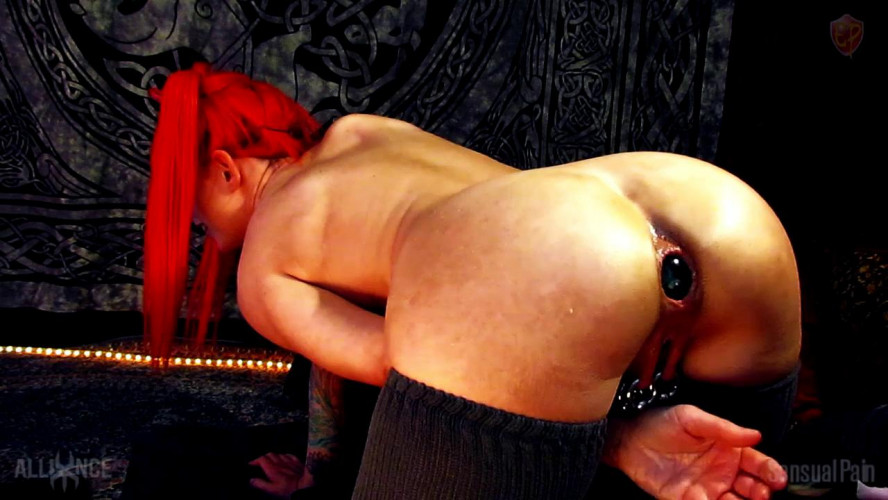 Fisting and Dildo Lovi Butt Toys V016 Odd Butt Insertions
