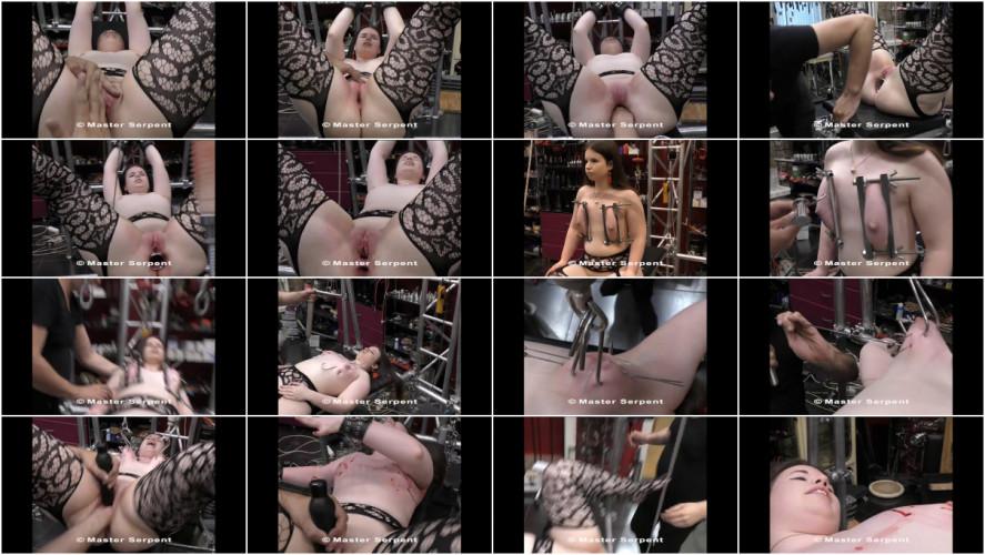BDSM Beauty Amanda Visiting the Torture Galaxy part 4