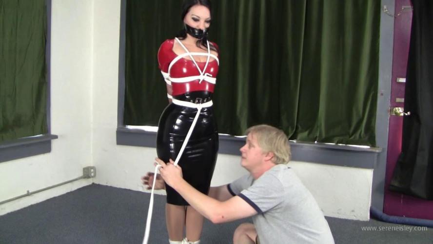 BDSM Latex Michelle Petite - Latexed Columned Hottie