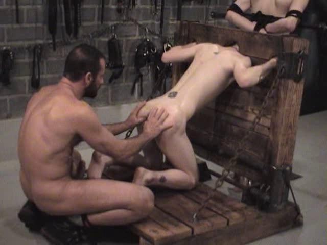 Gay BDSM Open Up For Bondage - Brett Holt,  Alexander