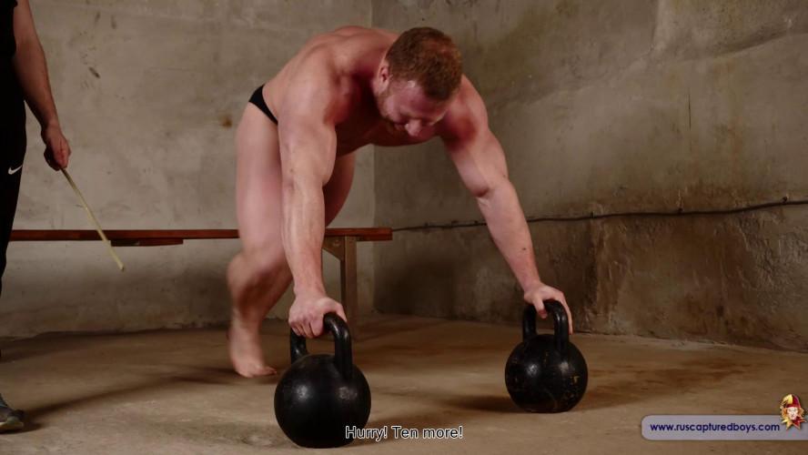 Gay BDSM Bodybuilder Stepan in Slavery - Final from ruscapturedboys