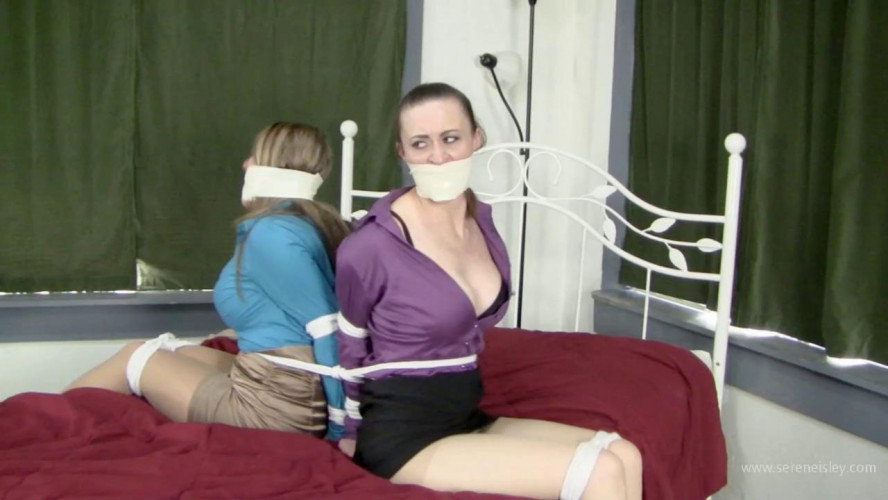 BDSM Leanna Belle & Serene Isley - Roommate Bonding Through Bondage