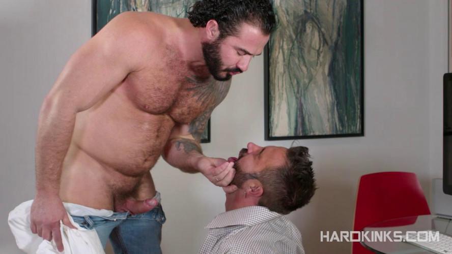 Gay BDSM Hairy Alpha (Jessy Ares, Martin Mazza)