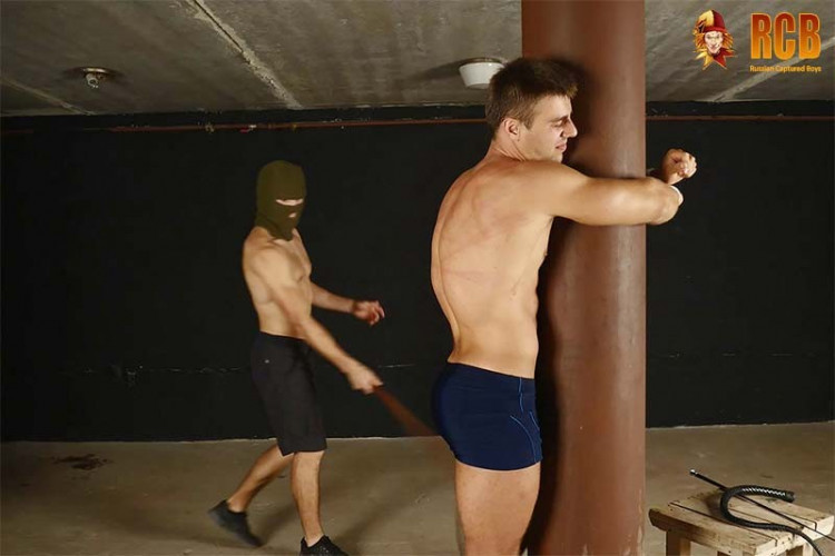 Gay BDSM RCapturedBoys - Strength Gymnast Anton. Part II