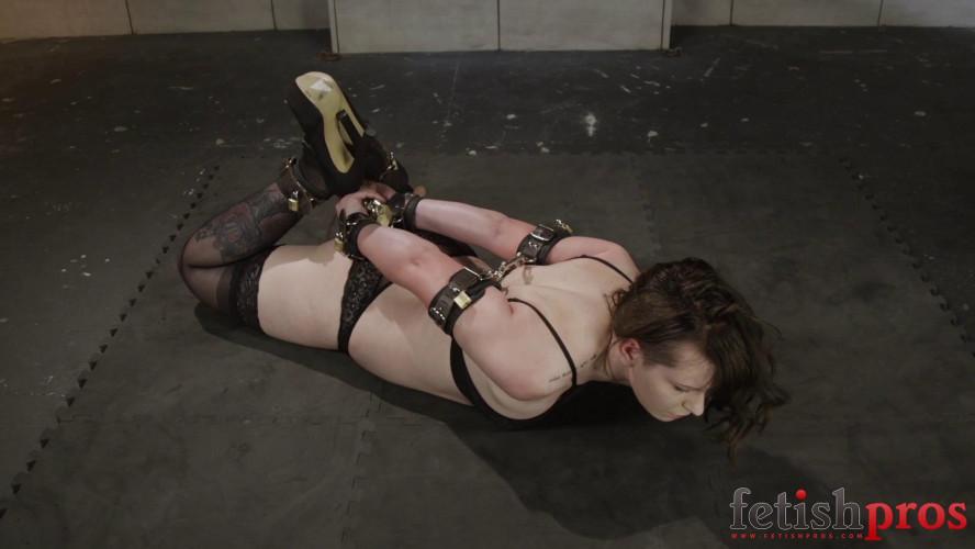 BDSM Leather Cuff Escape Challenge
