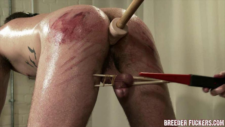 Gay BDSM Ultra hard gay bdsm - Bound and gagged