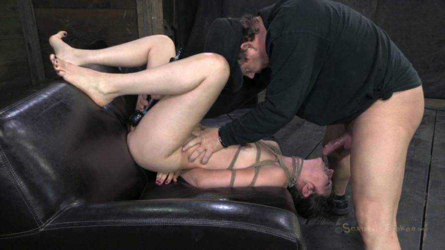 BDSM Bondage & Rough Sex For Super Cute Girl Next Door