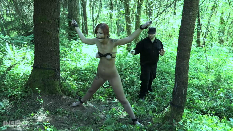 BDSM Outdoor Tortures For Nasty Scarlett Mae