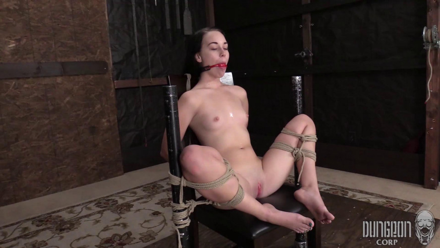 BDSM DungeonCorp - Bambi Black - The Helplessness of the Ropes