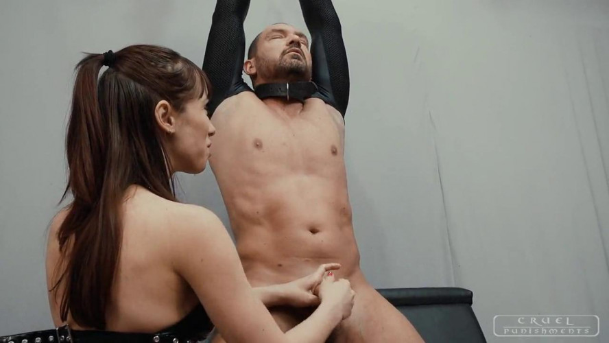 Femdom and Strapon Pleasure with a little pain