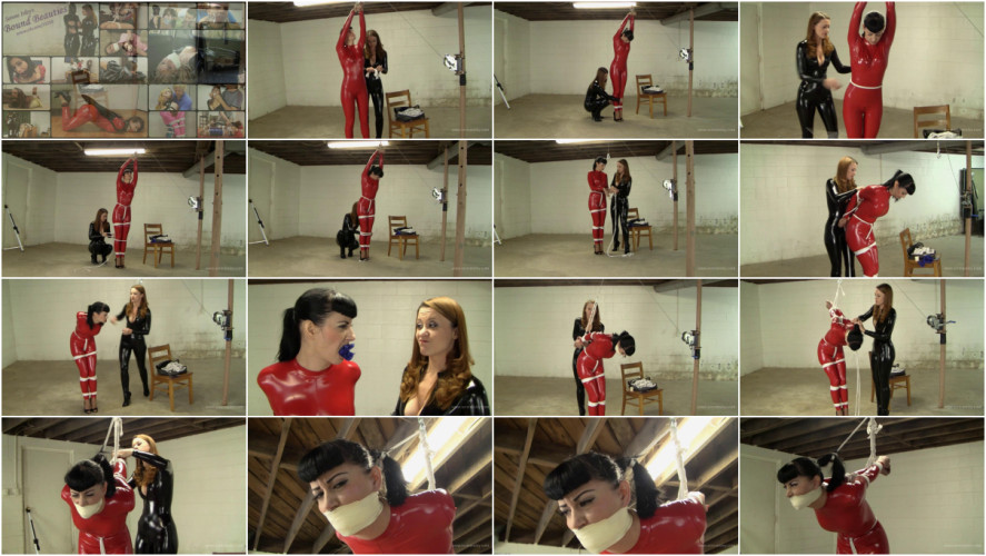 BDSM Latex Nyxon & Serene Isley - Catburglar Catches a Copycat