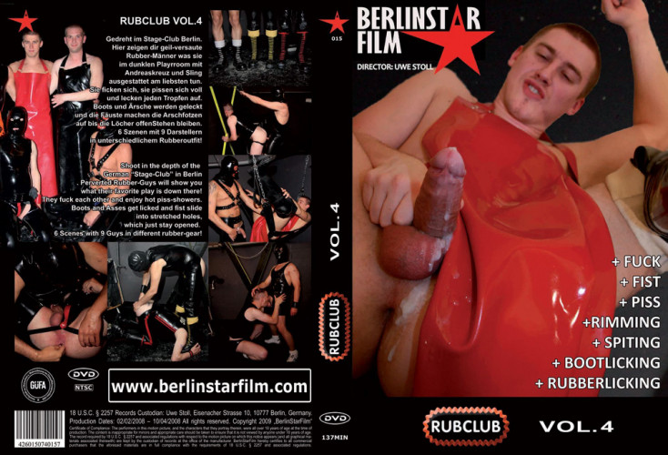Gay BDSM RubClub Vol.4