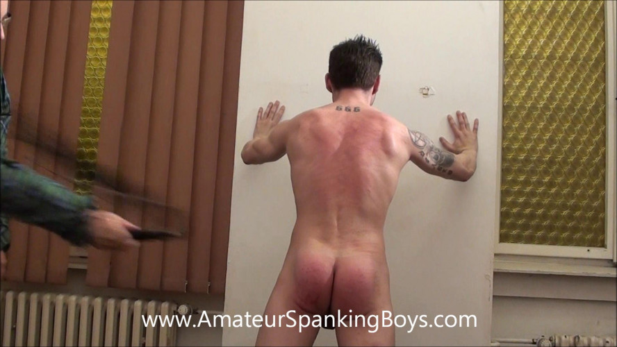 Gay BDSM SpankingBoysVideo - Patrick Whipped Back