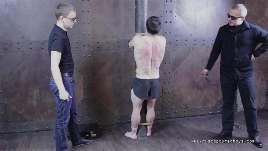 Gay BDSM RusCapturedBoys - Punishment for Unsubmissive Prisoner II