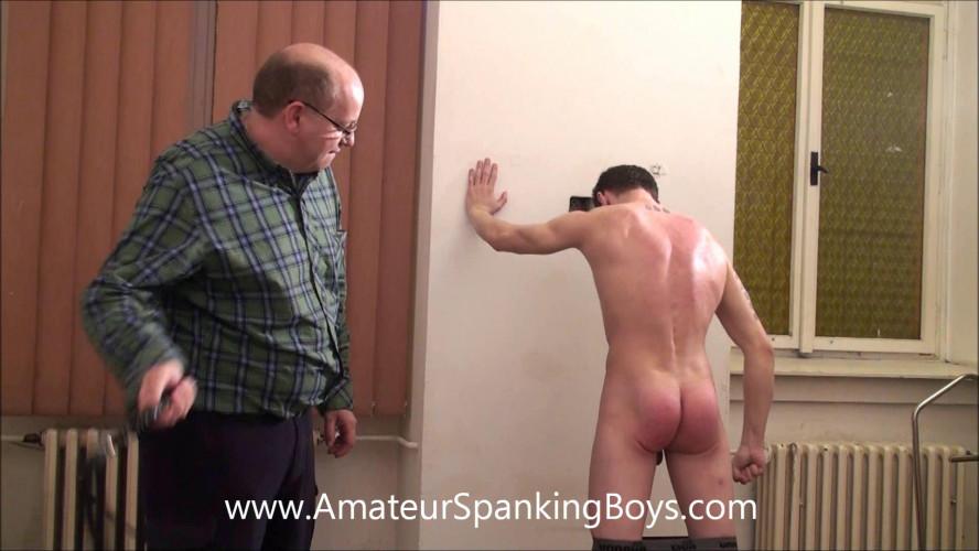 Gay BDSM AmateurSpankingBoys - Patrick Whipped Back