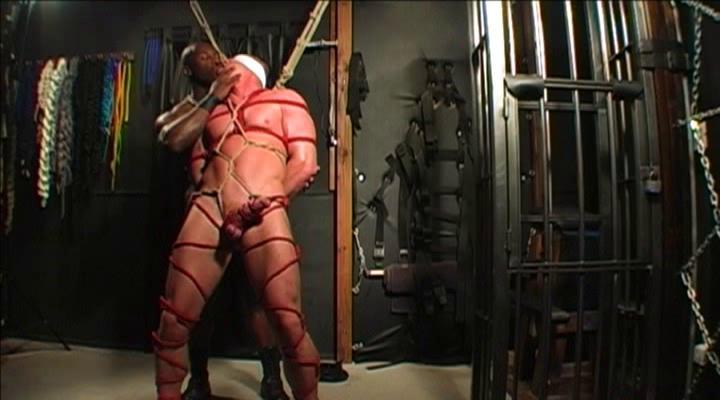 Gay BDSM Muscle Bound Prod - Anatomy of Bondage