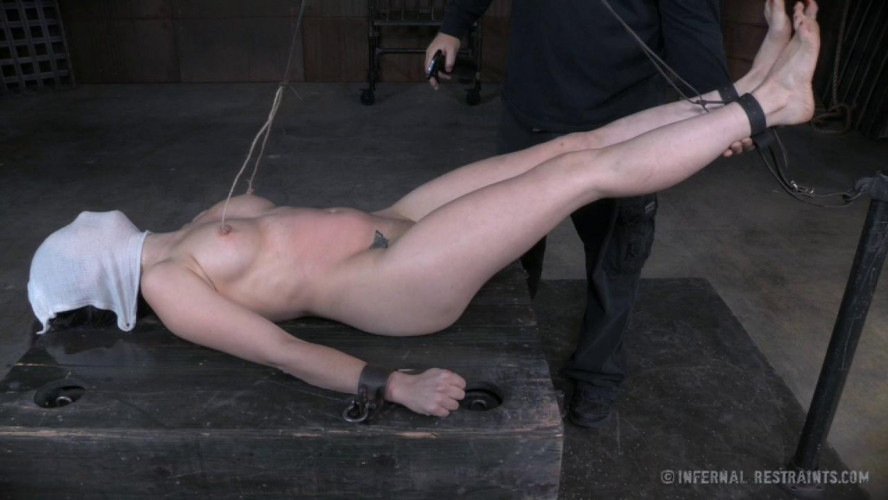 BDSM Freya French gets to cry her eyes out!