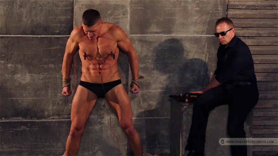 Gay BDSM Magnificent 48 Clips Ruscapturedboys. Part 3.