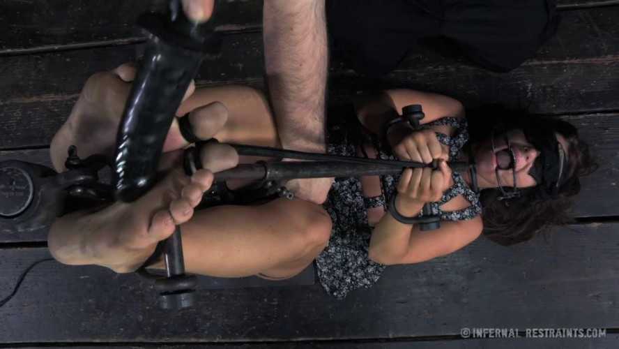 BDSM Nose Hooks, A Spider Gag And A Tongue Clamp