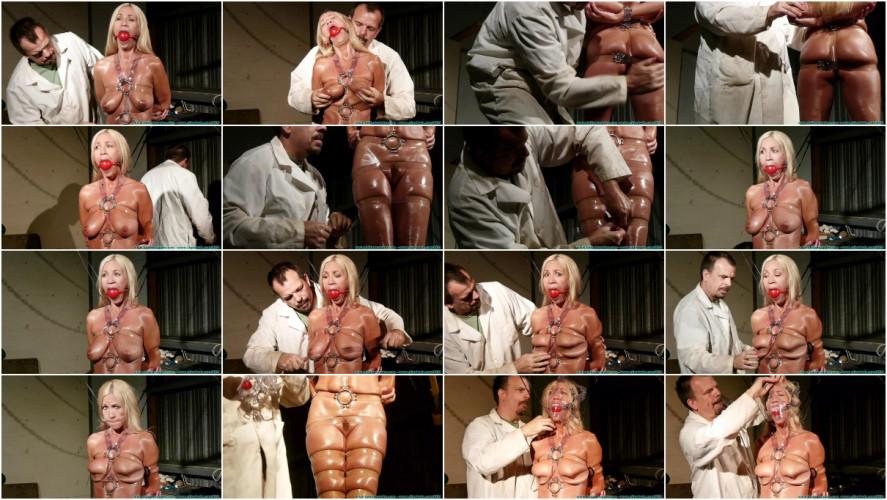 BDSM HD Bdsm Sex Videos Clear Strap Hogtie for Amanda Part 1