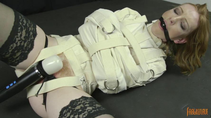 BDSM Straight Jacket Struggle