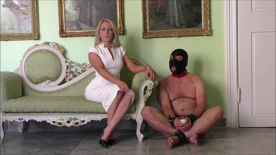 Femdom and Strapon Courtney Afternoon Tea With The Whip vol. 2