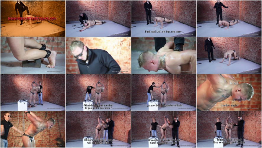 Gay BDSM RusCapturedBoys - Slave for Sale - Vasily - Final Part