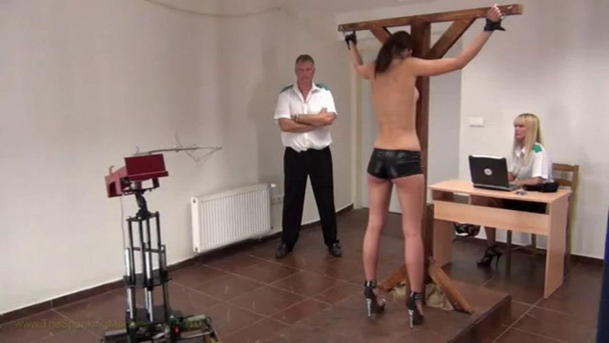 BDSM Bondage, spanking and torture for young sexy model