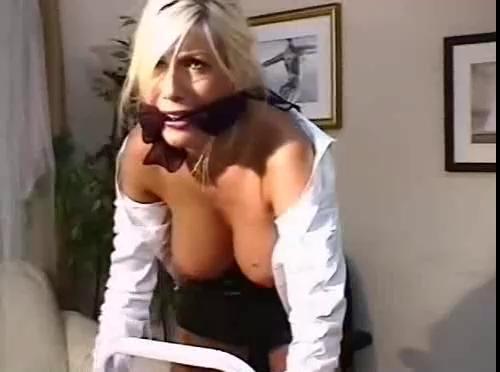 BDSM Erika Big boobs bondage
