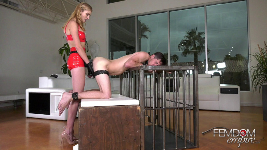 Femdom and Strapon Mazzy Grace - Big Dick Slut
