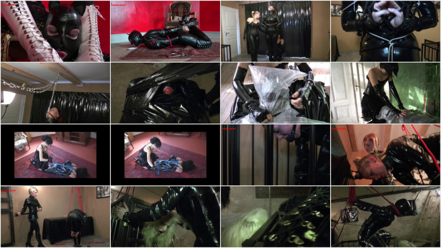 BDSM Latex Magic Sweet Hot New Only Best Collection Bondage Education. Part 4.
