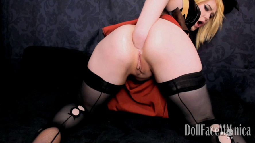 Fisting and Dildo Witch Secret Ritual - DollFaceMonica - FullHD 1080p