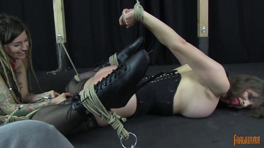 BDSM Vibed to Orgasm