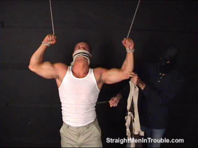 Gay BDSM Anthony In Trouble