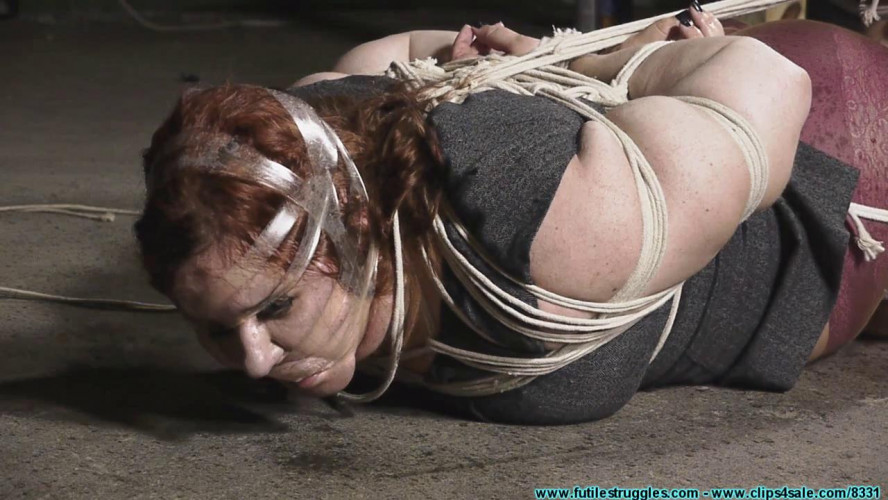BDSM BBW AJ Cured of Bitchiness with Strict Bondage Bastinado - Part 2