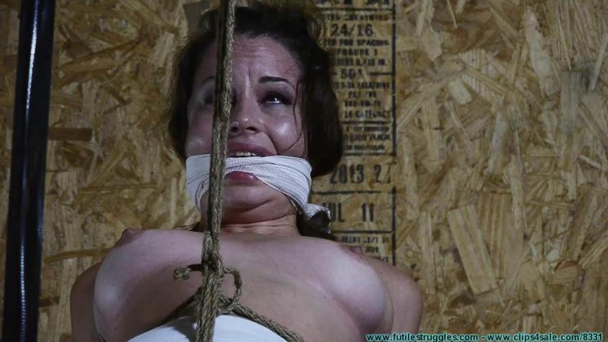 BDSM Lexy mae hogtied part 1