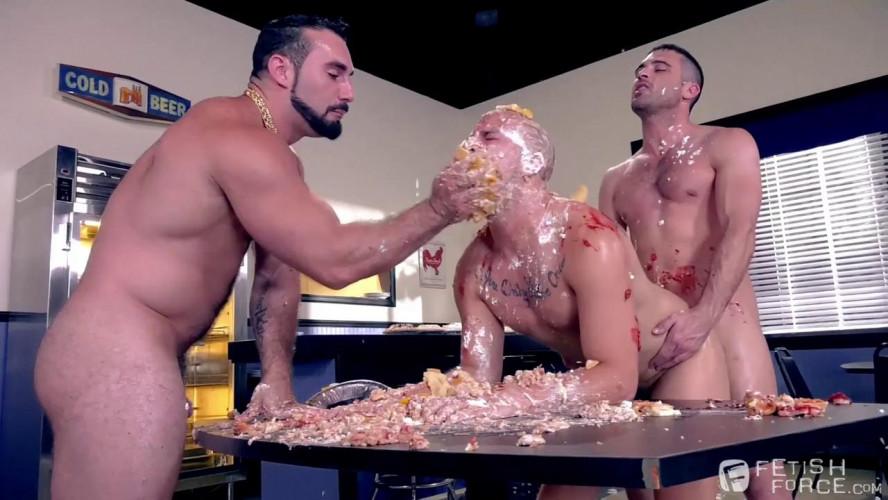 Gay BDSM Domination Diner, Scene #04