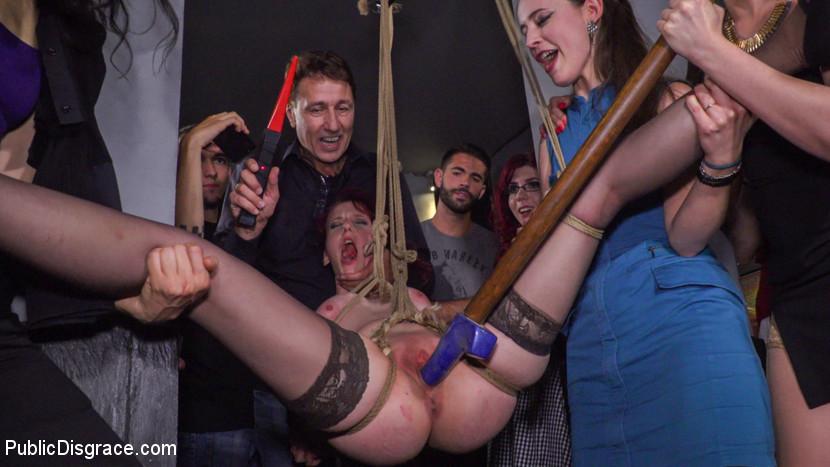 BDSM Pain Slut Rija Mae Fully Disgraced