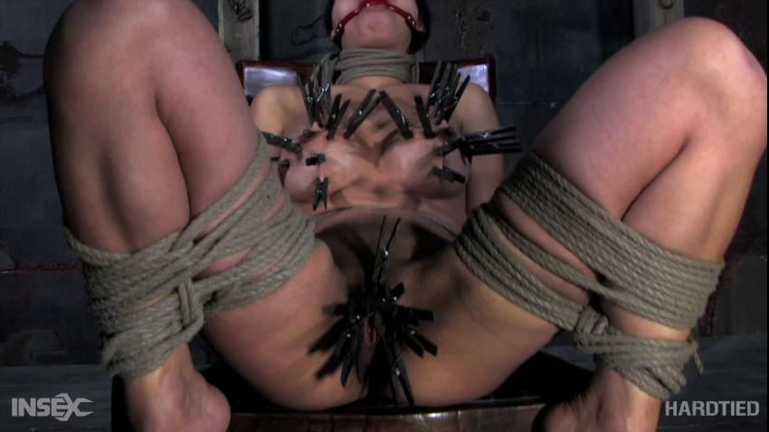 BDSM Tying her for new sensations